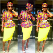 Latest Trends by Ankara Styles With Pretty Blooms And Eye Popping Trends Wedding
