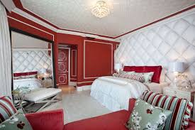 bedroom splendid walls samples for black decorating modern red