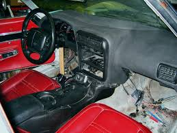 custom c3 corvette dash custom dash install corvette forum digitalcorvettes com