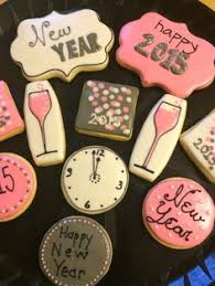 lilaloa decorated clock cookies for new year u0027s eve new years