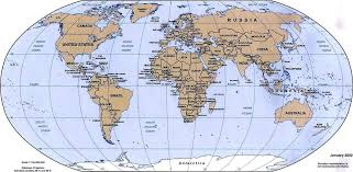 Map Of Countries World Map A Clickable Map Of World Countries At Map Of The Whole