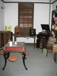 entertainment room frisco depot museum hugo oklahoma