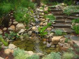 Water Rock Garden Water Gardens Pleasant Grove For A Contemporary Landscape With A