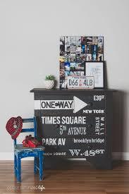 decoration bureau york colour saturated furniture makeover york dresser diy