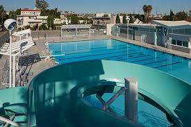 first look at the newly reopened hollywood pool and its cool retro