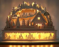 a beautiful traditional german christmas decoration woodworking