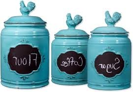100 fleur de lis kitchen canisters black canister set