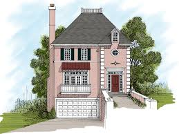 house plans for narrow lots with front garage carey narrow lot home plan 013d 0084 house plans and more