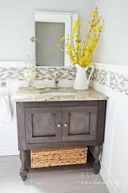 Powder Bathroom Vanities Diy Board And Batten Cottage Powder Room Makeover Diy Vanity