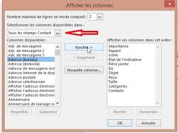 afficher outlook sur le bureau comment exporter des contacts outlook vers excel le plus simplement