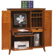 Amish Computer Armoire Custom Amish Mt Eaton Computer Armoire 54 High X 46 Wide
