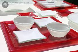 Glass Buffet Plates by The Glass Co Blog