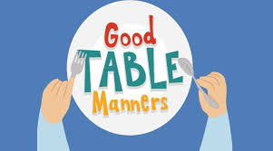 table manners good table manners oman observer