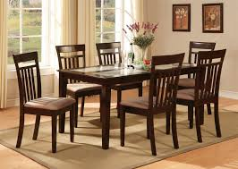 dining room cool six piece dining set with bench dining room
