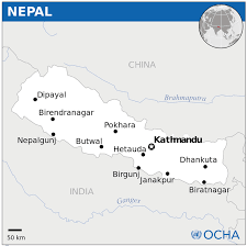 Map Of Nepal India by Nepal Map