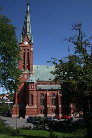 the trinity church in arendal