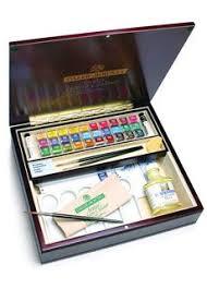 daler rowney artists u0027 water colour wood box a r t