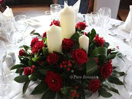 table decorations with candles and flowers ideas for your top table flower arrangement pure botanics