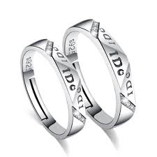 day rings valentines day gifts silver rings primetrolley