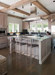 light gray stained kitchen cabinets darien beach house beach style kitchen bridgeport by shelter