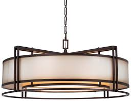 sausalito five light chandelier 66 most magnificent drum pendant lighting ceiling light fixtures