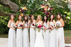 light gray bridesmaid dresses boho summer wedding in austin katie jonathan grey bridesmaid