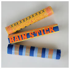 recycled craft make a rainstick kix cereal