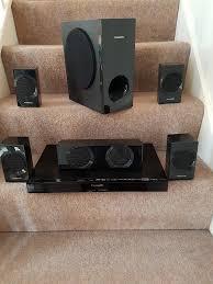 panasonic blu ray home theater system panasonic blu ray disc home theater sound system sa btt 190 in
