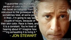Jon Stewart Memes - at the end of the day race off jon stewart s rant it is