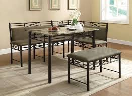 upholstered breakfast nook round extendable dining tables sneakergreet com table ebay loversiq