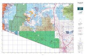 Arizona Blm Map by Arizona Gmu 36b Map Mytopo