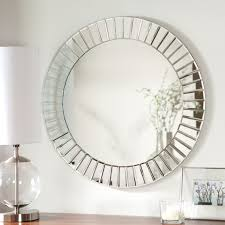 d u0026 233 cor wonderland fortune modern frameless beveled wall mirror