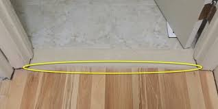 how to transition carpet to laminate at top of srs landing