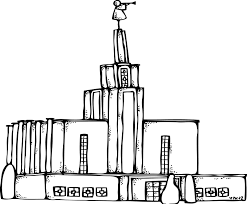 lds temple clipart yafunyafun com