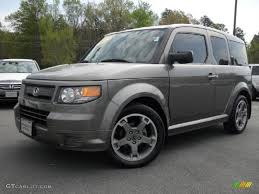 2014 Honda Element Galaxy Gray Metallic 2007 Honda Element Sc Exterior Photo