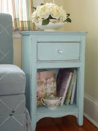 How To Repaint A Nightstand Add Shabby Chic Touches To Your Bedroom Design Sitting Area