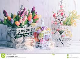 the easter birdcage stock photo image 65173230