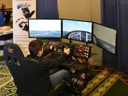 gaming setup simulator volair sim flight chassis hardware the avsim community