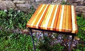 rebar table legs custom made restaurant bar stools with reclaimed