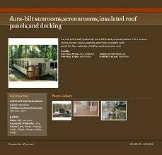 Trailer Sunrooms Trailer Screen Rooms Dura Bilt Dealer We Sell And Install Durabilt