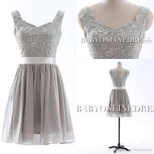 silver bridesmaid dresses 50 summer bridesmaid dress silver chiffon v neck cap