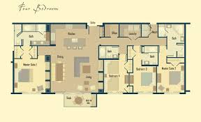 floor plans with pictures floor plans four bedroom residence timbers collection