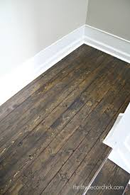 Laminate Flooring On Stairs Slippery Wood And White Stair Makeover From Thrifty Decor