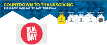 thanksgiving offers buy countdown to thanksgiving offers three hot deals today