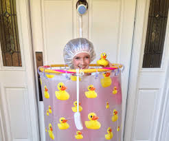 shower costume 10 steps with pictures