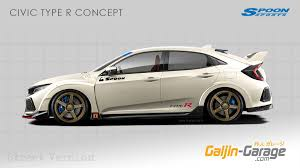 honda civic type r mugen first look at 2017 civic type r hatchback prototype spy pics