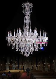 Hanging Heavy Chandelier Large Chandelier With Crystal Pendants Big Lamp For El Extra Large