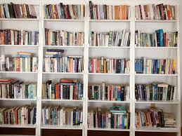 Bookshelves Library Books On Bookshelf Library Room Abstract Stock Photo Many