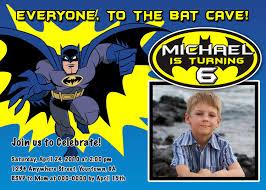 batman birthday invitations ideas