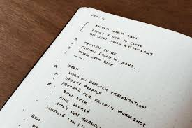 how to write a one page reflection paper top 5 bujo ideas in 2016 bullet journal bullet journal inventor ryder carroll s gratitude log in his daily logs